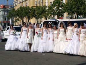 Ukrainian and Russian mail order brides