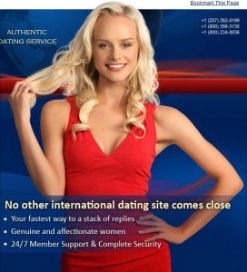 InterDating Single Ukrainian Russian Women Anastasia