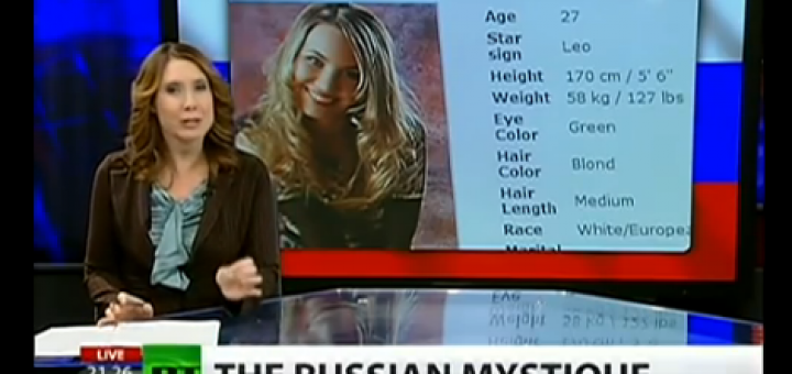 russian women video