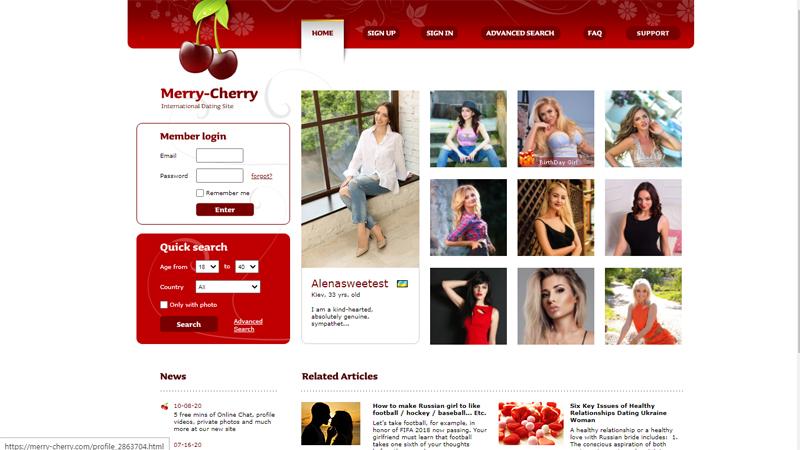 Marry Cherry Company Description