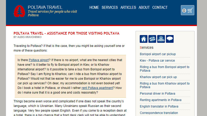 Poltava travel