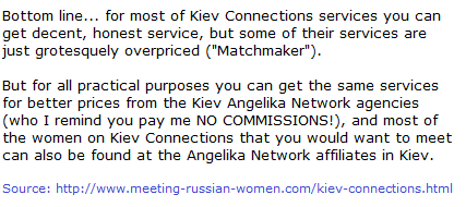 Kiev Connections Review part3