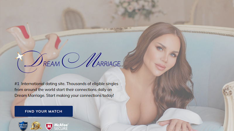 DreamMarriage Company Description