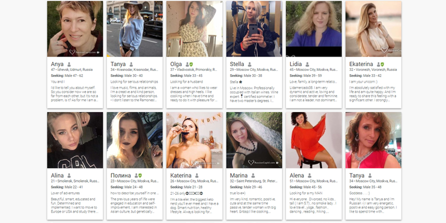 RussianCupid experience online