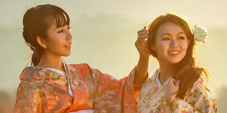Chinese vs japanese girls
